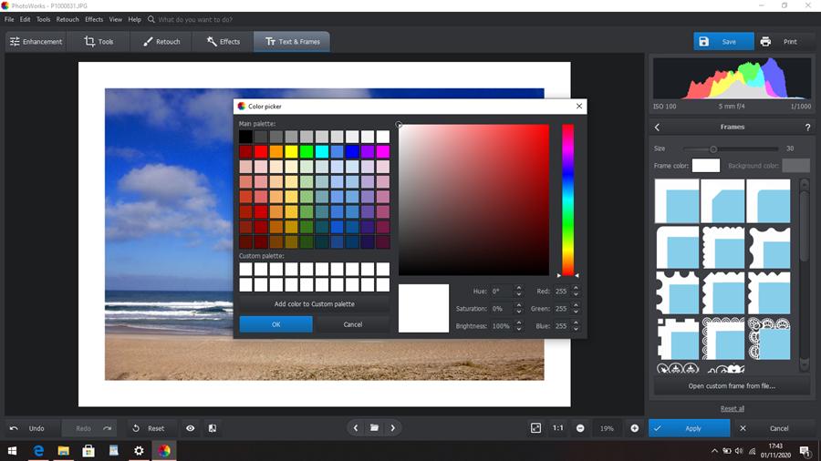 PhotoWorks Text Frames