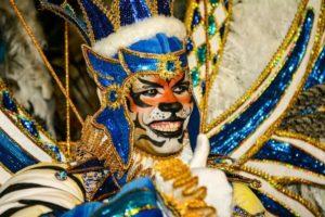 Membro da Comissão de frente carnaval