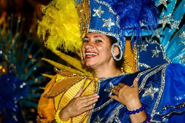 Participantes das alas Fotografia Carnaval Brasil